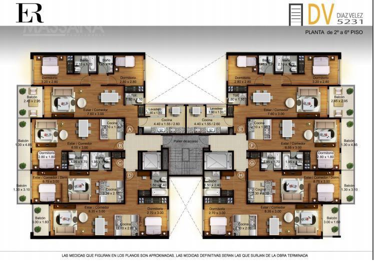 Foto Edificio en Caballito Diaz Velez 5231 número 5