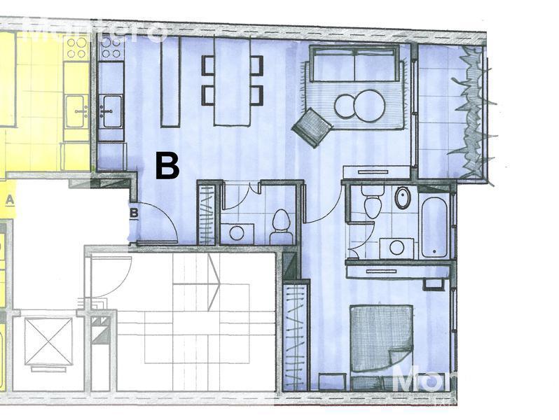 Foto Edificio en Caballito Norte Avellaneda 1000 número 24