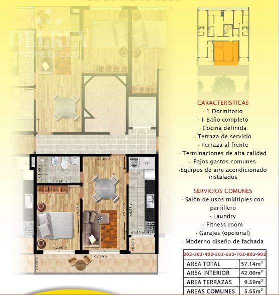 Foto Edificio en Pocitos 26 de marzo y Pereyra de la Luz número 6
