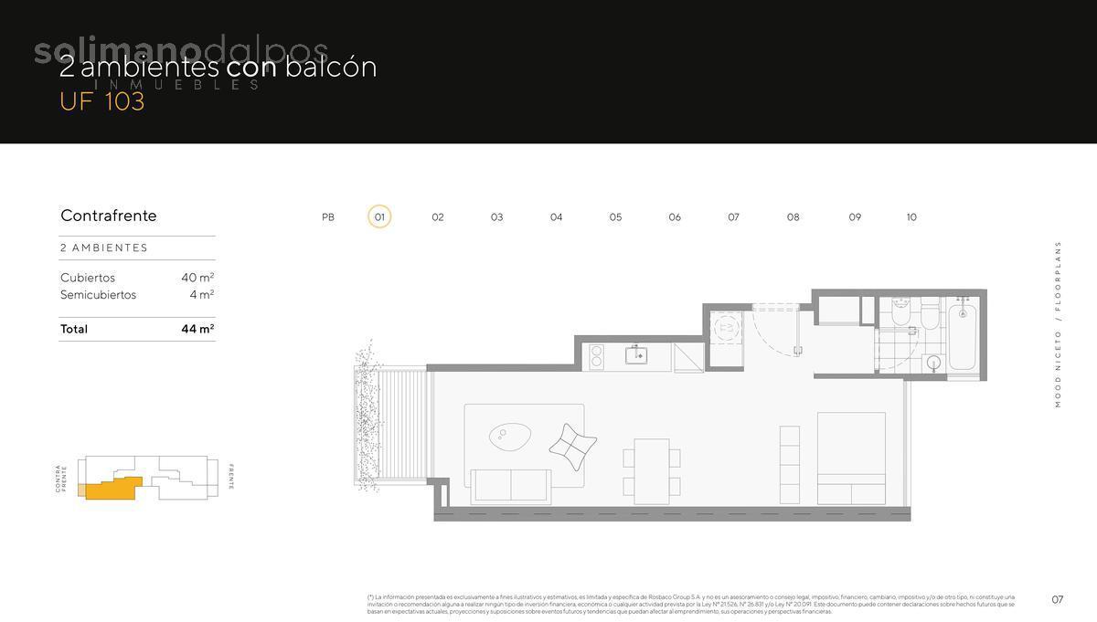 Foto Edificio en Palermo Hollywood Niceto Vega 5648 número 15