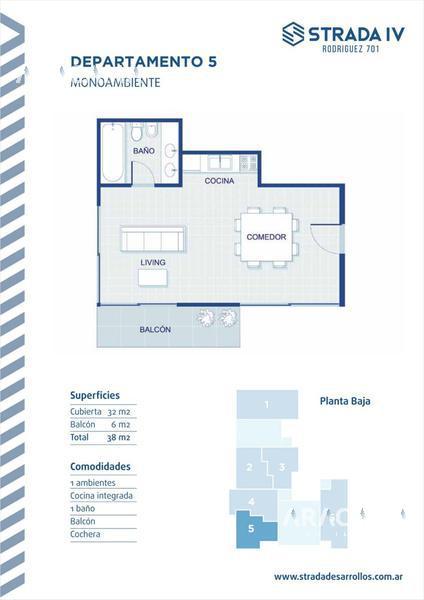 Foto Edificio en Monte Grande Rodriguez 701 número 11