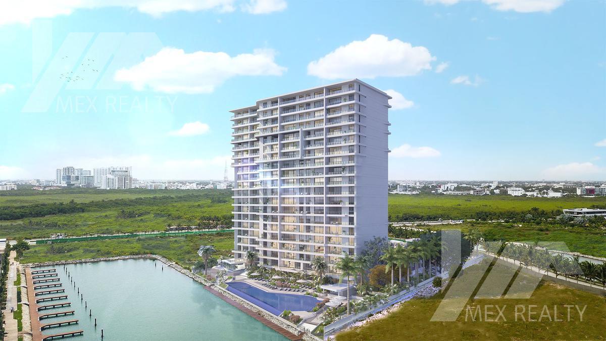 Foto Condominio en Puerto Cancún  Marina Town Center, Puerto Cancún, Zona Hotelera, Cancún  número 1