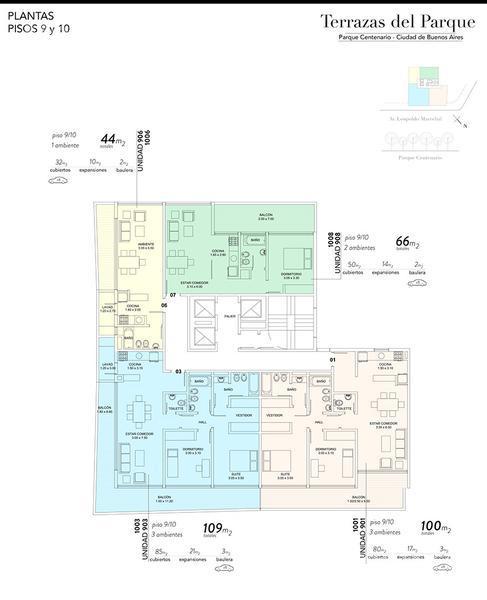 Foto Edificio en Caballito Marechal 862 número 13