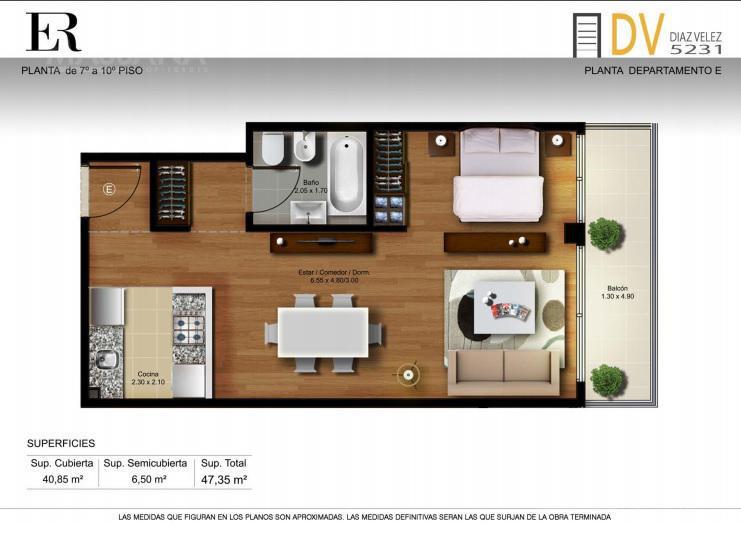 Foto Edificio en Caballito Diaz Velez 5231 número 16