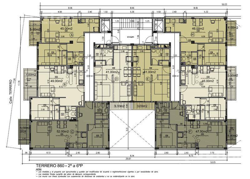 Foto Edificio en Caballito Terrero 800 número 19