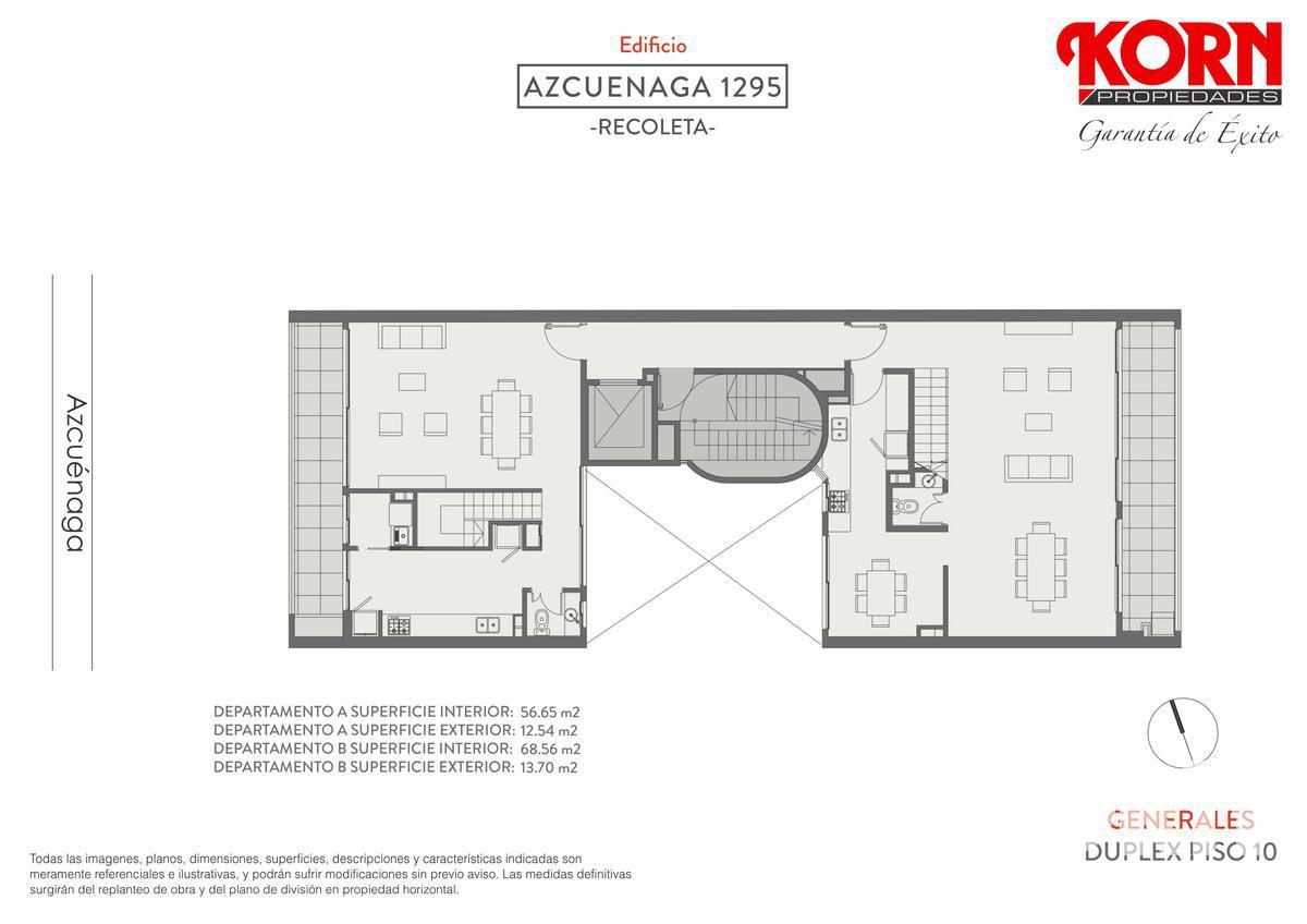 Foto Edificio en Recoleta Azcuénaga entre Beruti y Juncal numero 8