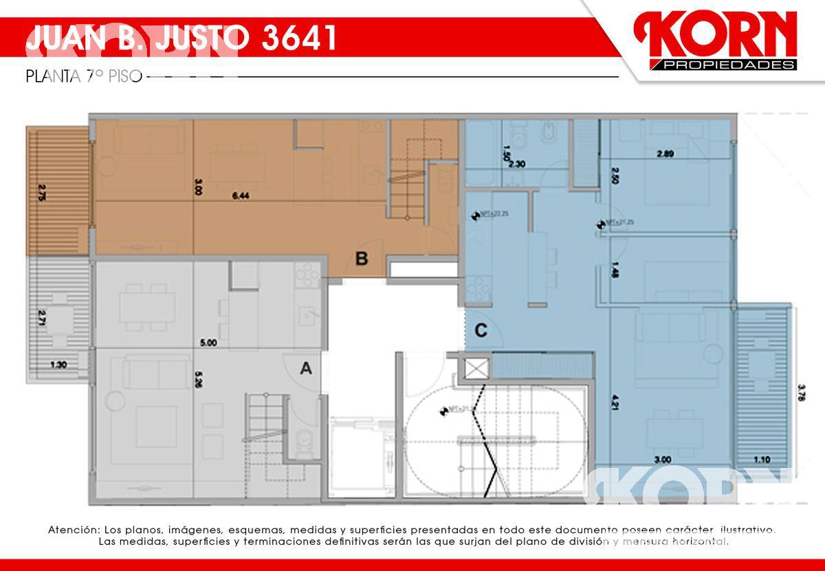 Foto Edificio en Villa Crespo Av. Juan B. Justo al 3600 entre Repetto y Cucha Cucha numero 11