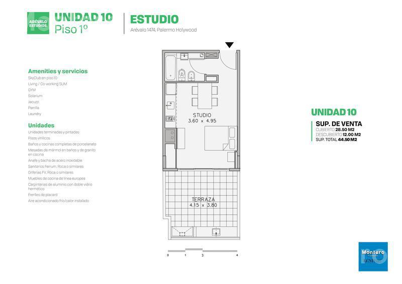 Foto Edificio en Palermo Hollywood Arévalo 1400 número 25