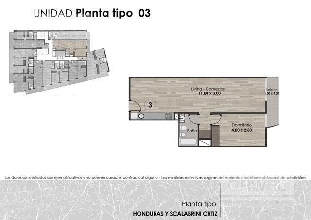 Foto Edificio en Palermo Honduras y Scalabrini Ortiz número 10