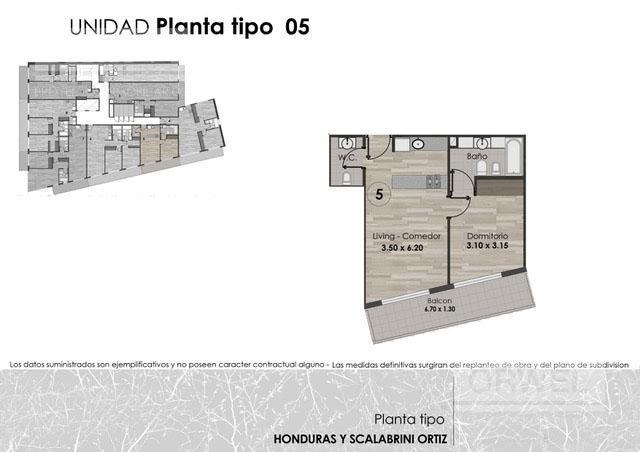 Foto Edificio en Palermo Honduras y Scalabrini Ortiz número 12