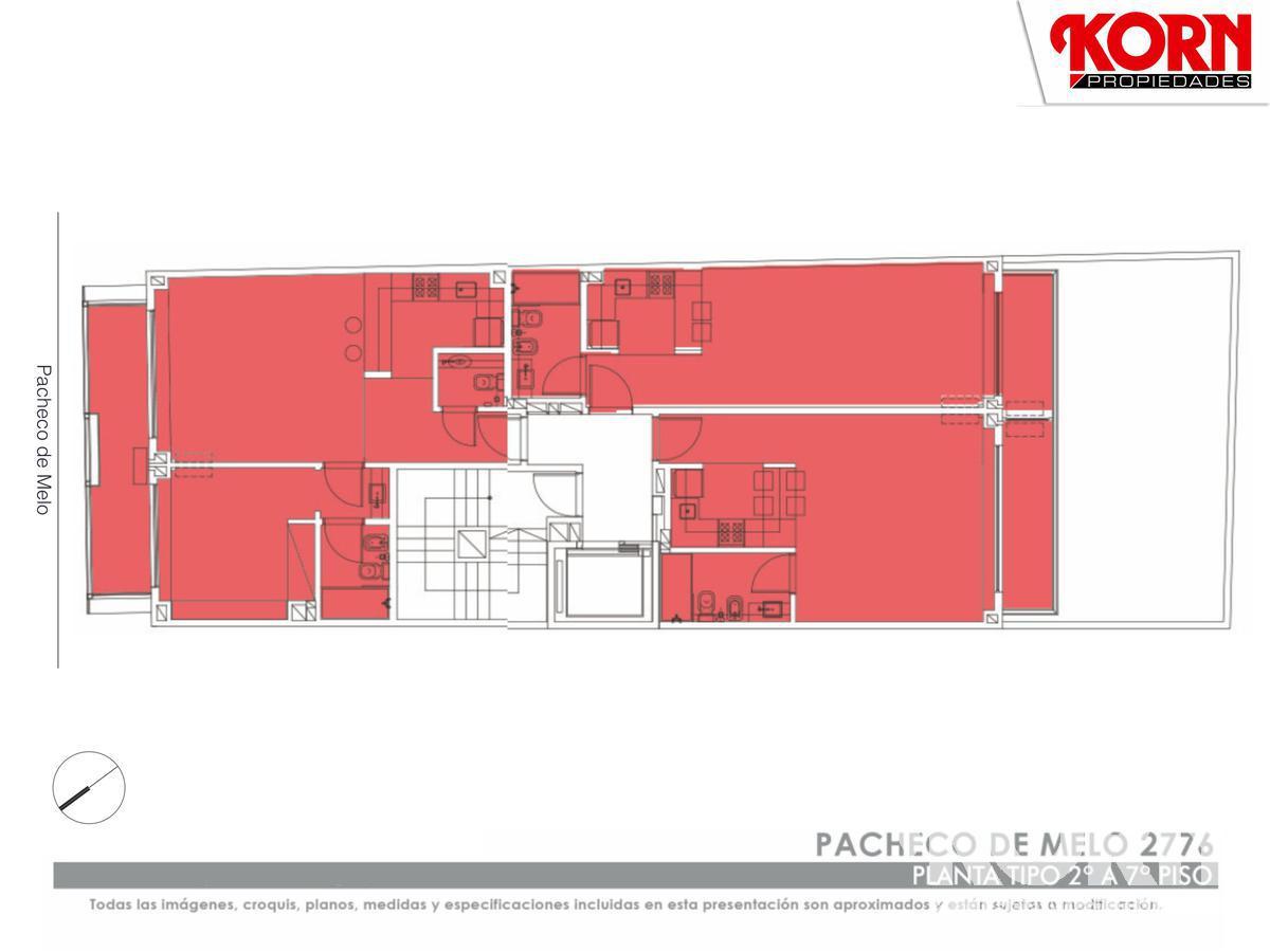 Foto Edificio en Recoleta Pacheco de Melo y Pje. Bollini numero 5