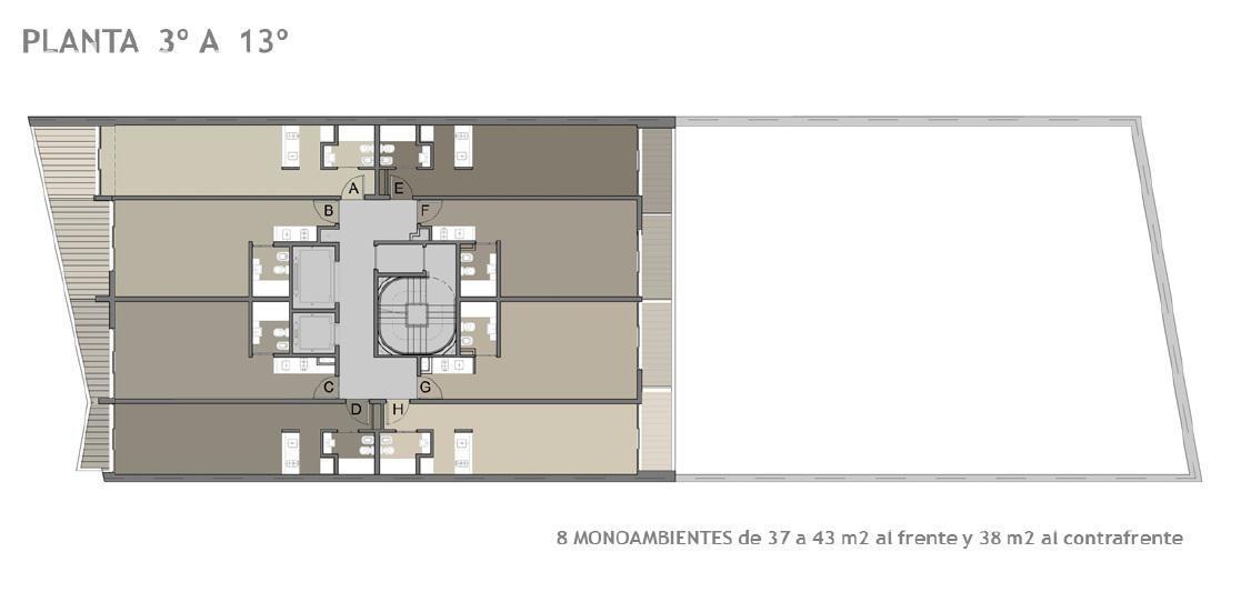 Foto Edificio en Constitución Bernardo de Irigoyen 1418 número 13