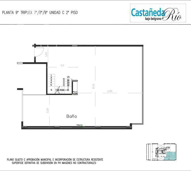 Foto Edificio en Belgrano C CASTAÑEDA 1800 Y SUCRE - BAJO BELGRANO número 22