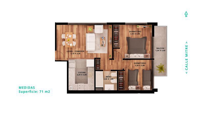 TOLEDO, Rosario, Santa Fe.  de Emprendimientos - Banchio Propiedades. Inmobiliaria en Rosario