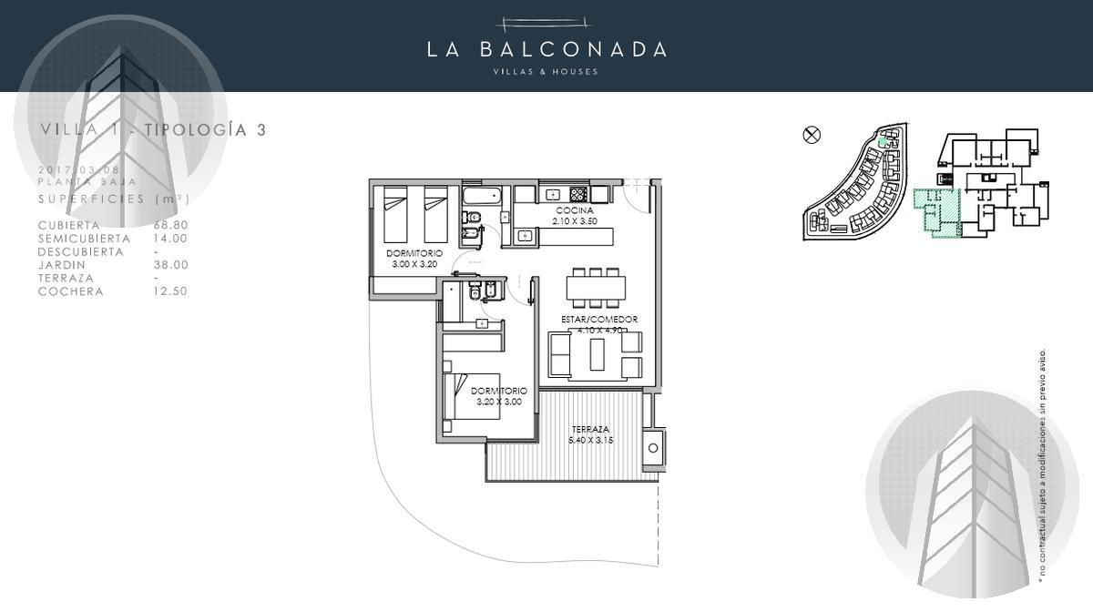 Foto Departamento en Venta en  Los Castaños,  Nordelta  La Balconada