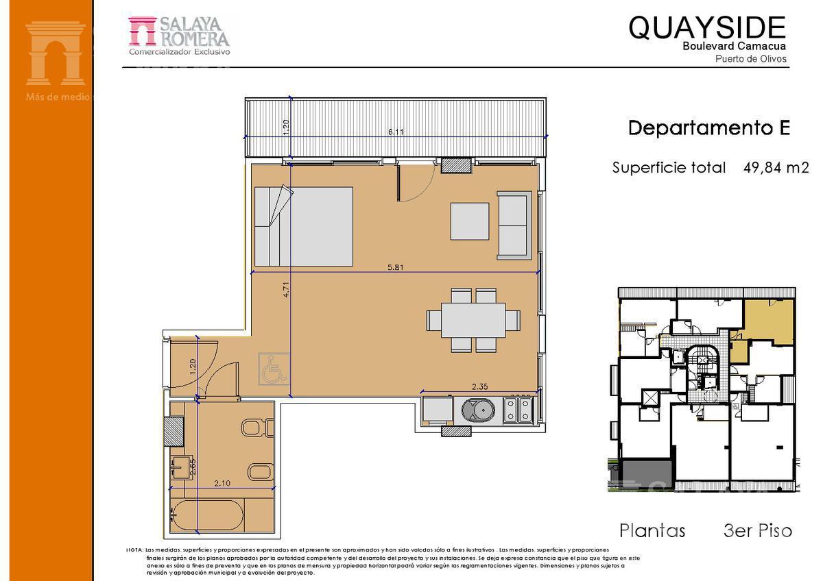 Foto Edificio en Olivos-Vias/Rio Camacua 400 número 16