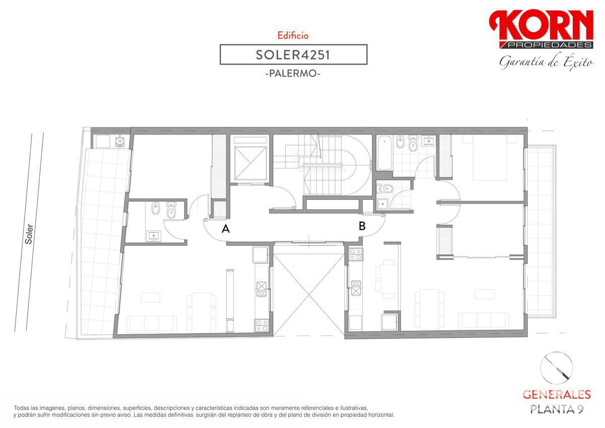 Foto Edificio en Palermo Soho Soler entre J. Alvarez y Araoz numero 12