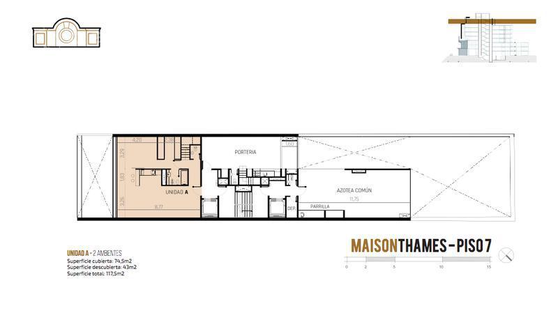 Foto Edificio en Palermo Thames 2450 número 10