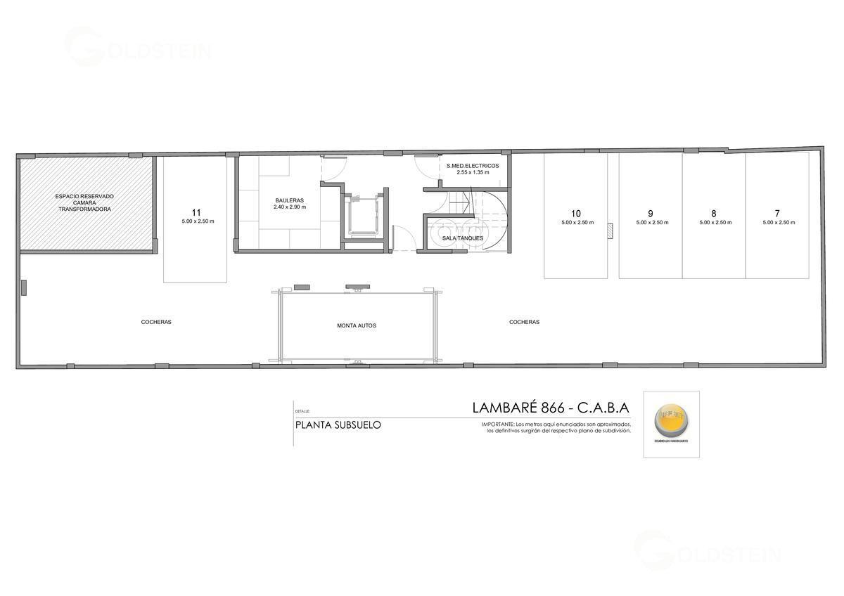 Foto Edificio en Almagro Lambaré 800 número 2