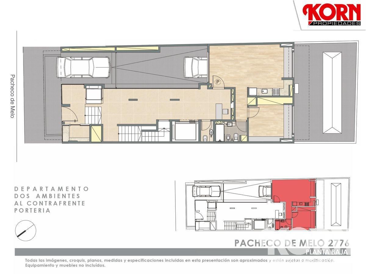 Foto Edificio en Recoleta Pacheco de Melo y Pje. Bollini numero 4