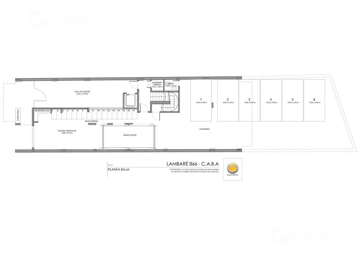 Foto Edificio en Almagro Lambaré 800 número 5