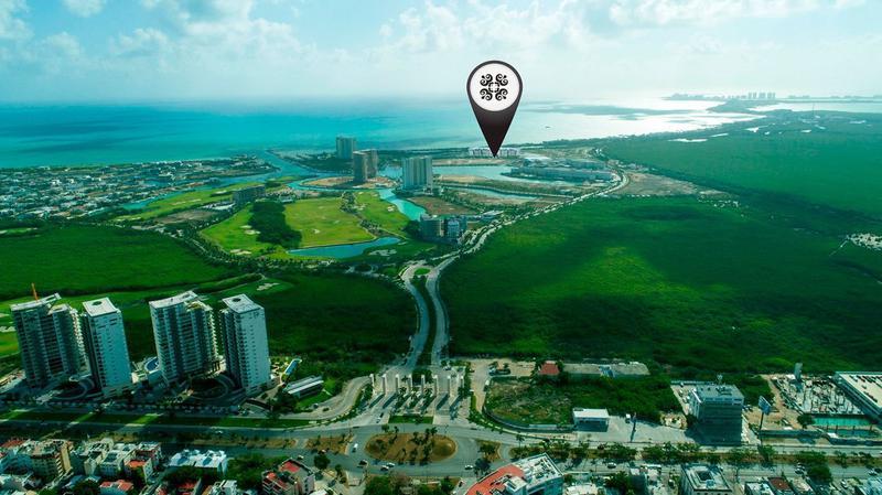 Foto Departamento en Venta en  Puerto Cancún,  Cancún  ALLURE, CONDOMINIO FRENTE AL MAR,.