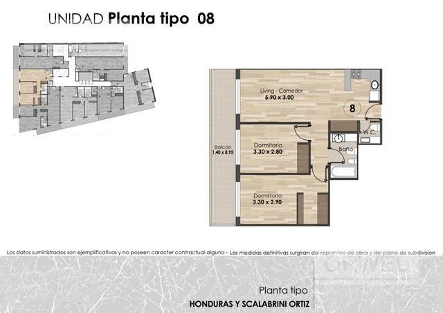 Foto Edificio en Palermo Honduras y Scalabrini Ortiz número 15