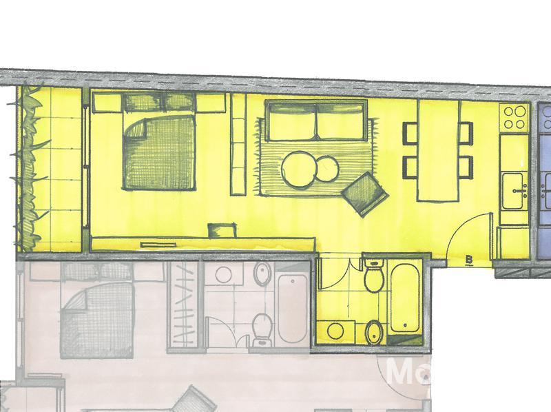 Foto Edificio en Caballito Norte Avellaneda 1000 número 23