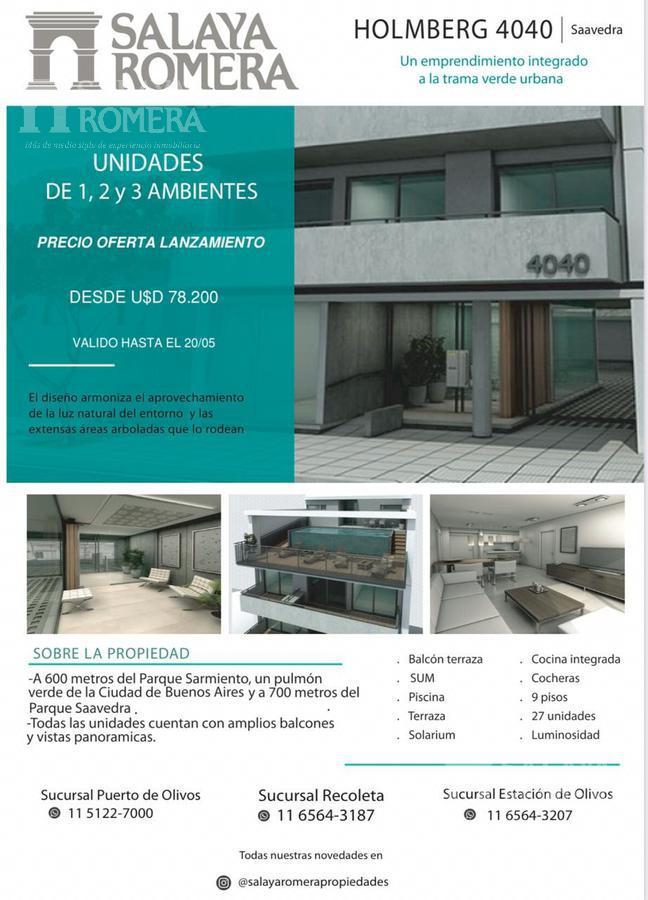 Foto Edificio en Saavedra Holmberg 4040  número 10