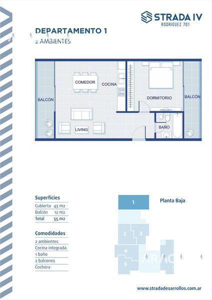 Foto Edificio en Monte Grande Rodriguez 701 número 14