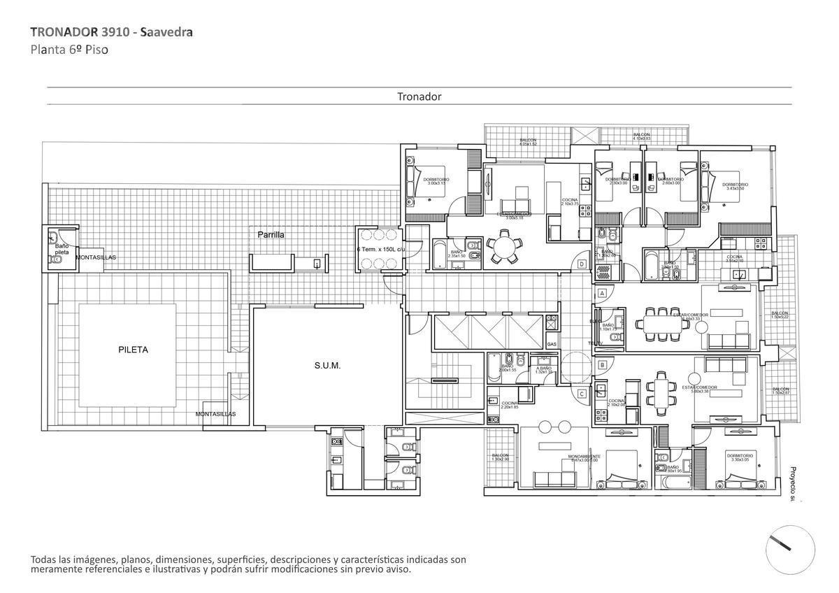 Foto Edificio en Saavedra Tronador al 3900 numero 11