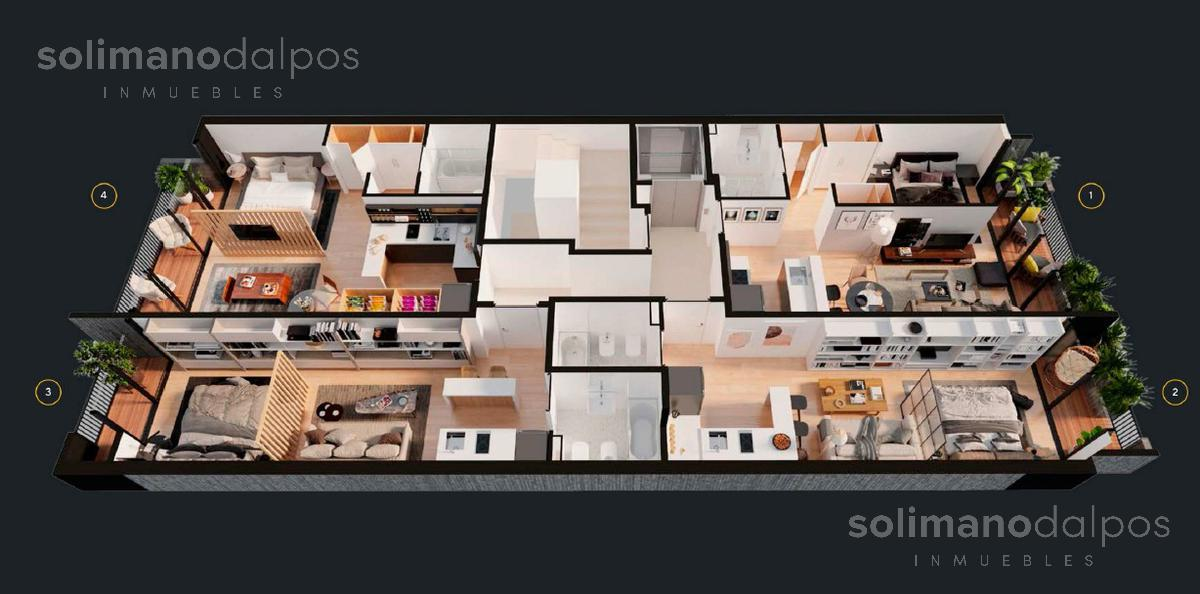Foto Edificio en Colegiales Amenabar 257 número 7
