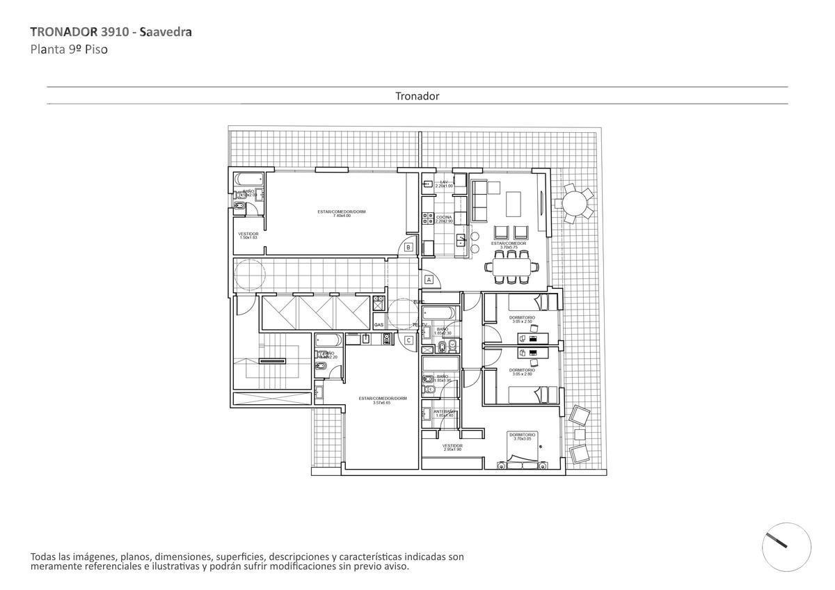 Foto Edificio en Saavedra Tronador al 3900 numero 14