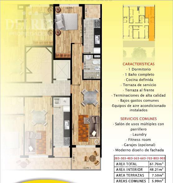 Foto Edificio en Pocitos 26 de marzo y Pereyra de la Luz número 7