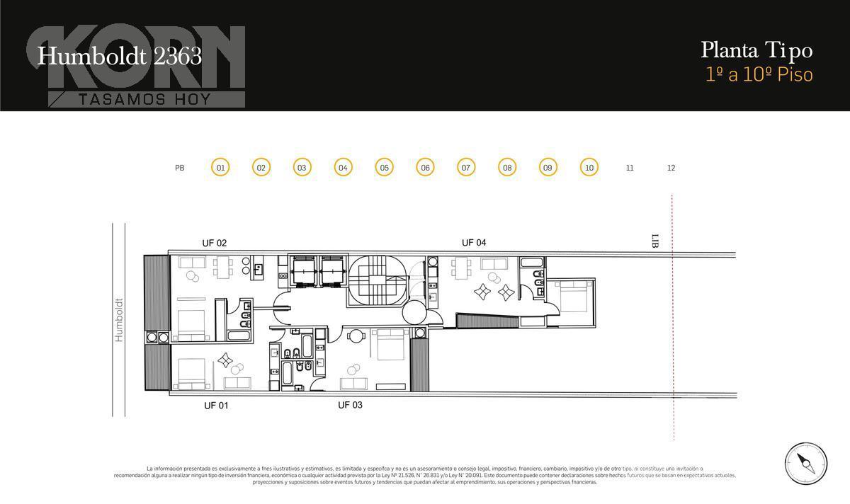 Foto Edificio en Palermo Hollywood Humboldt al 2300 numero 15