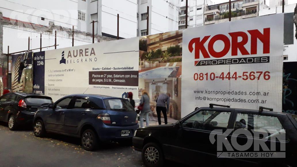 Foto Edificio en Belgrano Ciudad de la Paz entre Olazabal y Mendoza numero 25
