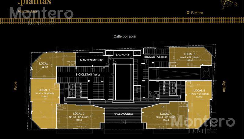 Foto Edificio en Colegiales Moldes 800 número 9
