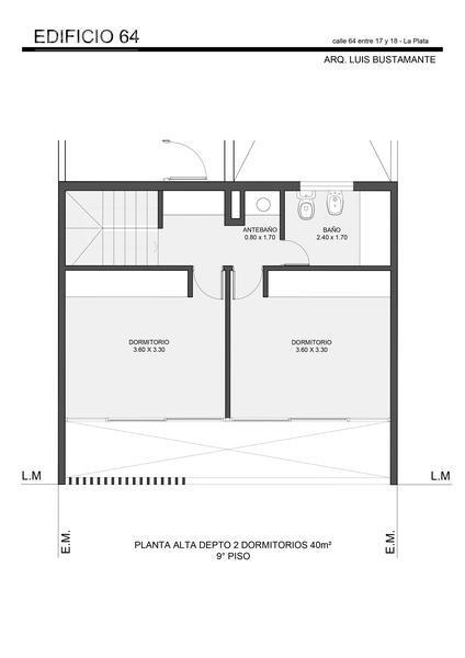 Foto Edificio en La Plata 64 entre 17 y 18 número 15