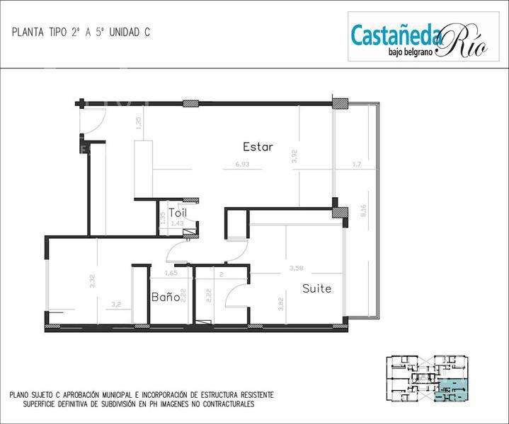 Foto Edificio en Belgrano C CASTAÑEDA 1800 Y SUCRE - BAJO BELGRANO número 23