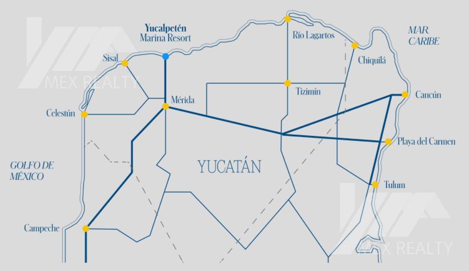 Foto Condominio en Nueva Yucalpeten YUCALPETÉN Resort Marina, Departamentos, Pent-houses y Villas en Pre Venta, 2 a 4 Recamaras, Progreso, Yucatán número 12