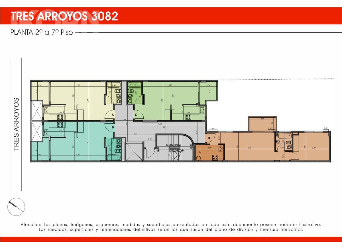 Foto Edificio en B.Santa Rita Tres Arroyos entre Helguera y Argerich numero 4