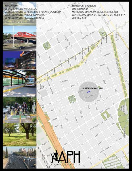 Foto Edificio en Saavedra Ruiz Huidobro 2800 número 3