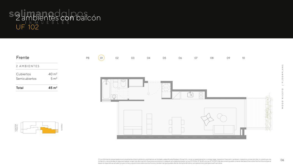 Foto Edificio en Palermo Hollywood Niceto Vega 5648 número 13