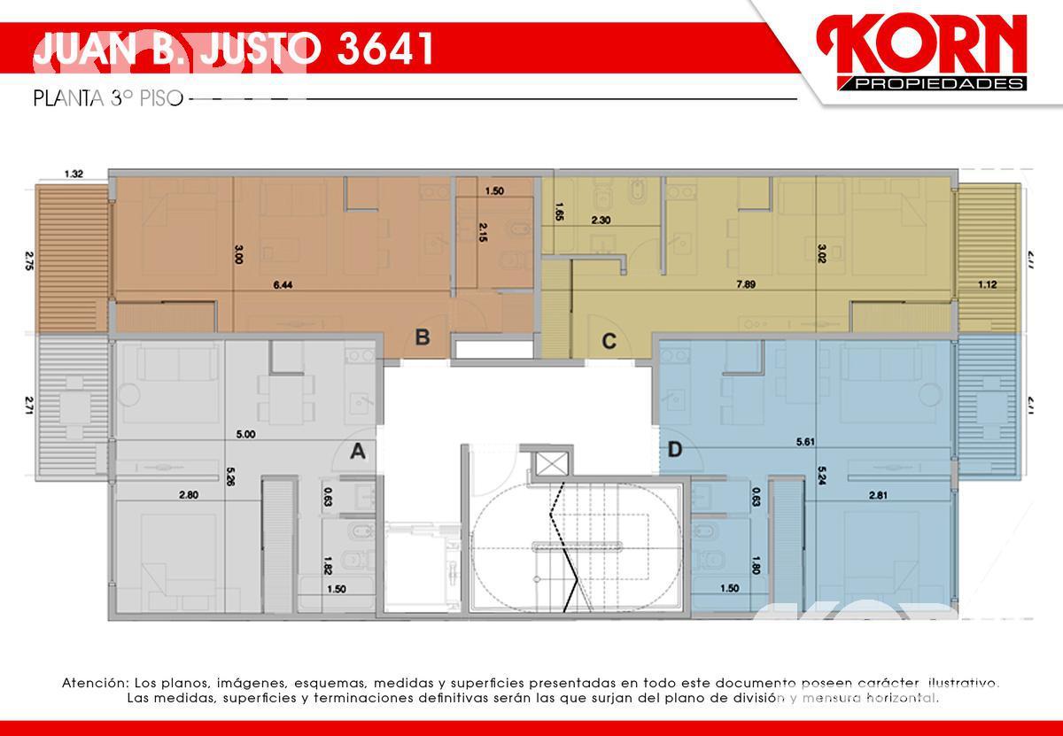 Foto Edificio en Villa Crespo Av. Juan B. Justo al 3600 entre Repetto y Cucha Cucha numero 8