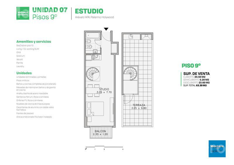 Foto Edificio en Palermo Hollywood Arévalo 1400 número 20