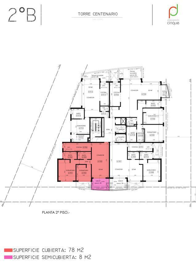 Foto Edificio en San Isidro Edificio en Venta. Entrega Noviembre 2021 número 12