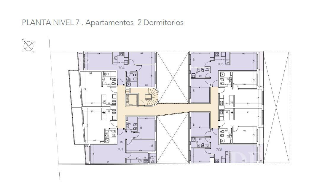 Foto Edificio en La Blanqueada 8 de Octubre y Jaime Cibils número 7