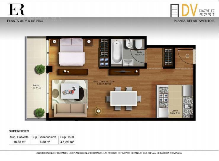 Foto Edificio en Caballito Diaz Velez 5231 número 17