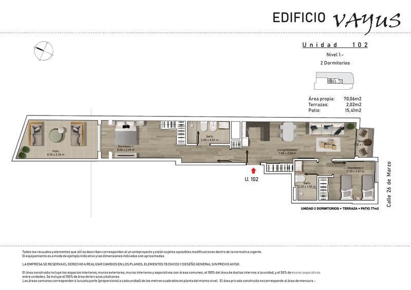 Foto Edificio en Pocitos 26 de marzo y Luis A. de Herrera número 11