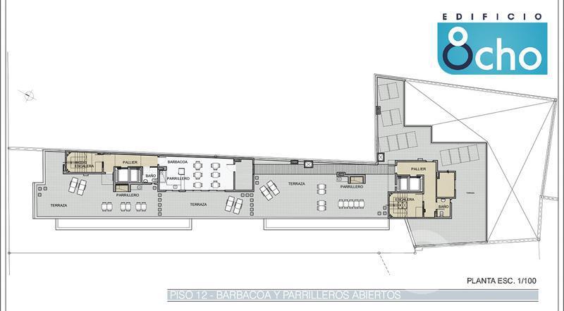 Foto Edificio en La Blanqueada             8 de Octubre  esq Luis Alberto de Herrera.           número 5